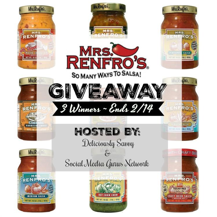 Mrs Renfro's Salsa Giveaway