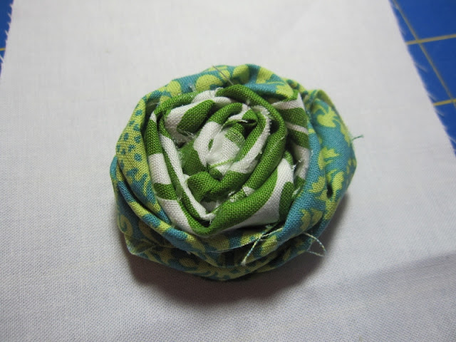 st patricks rosette tutorial