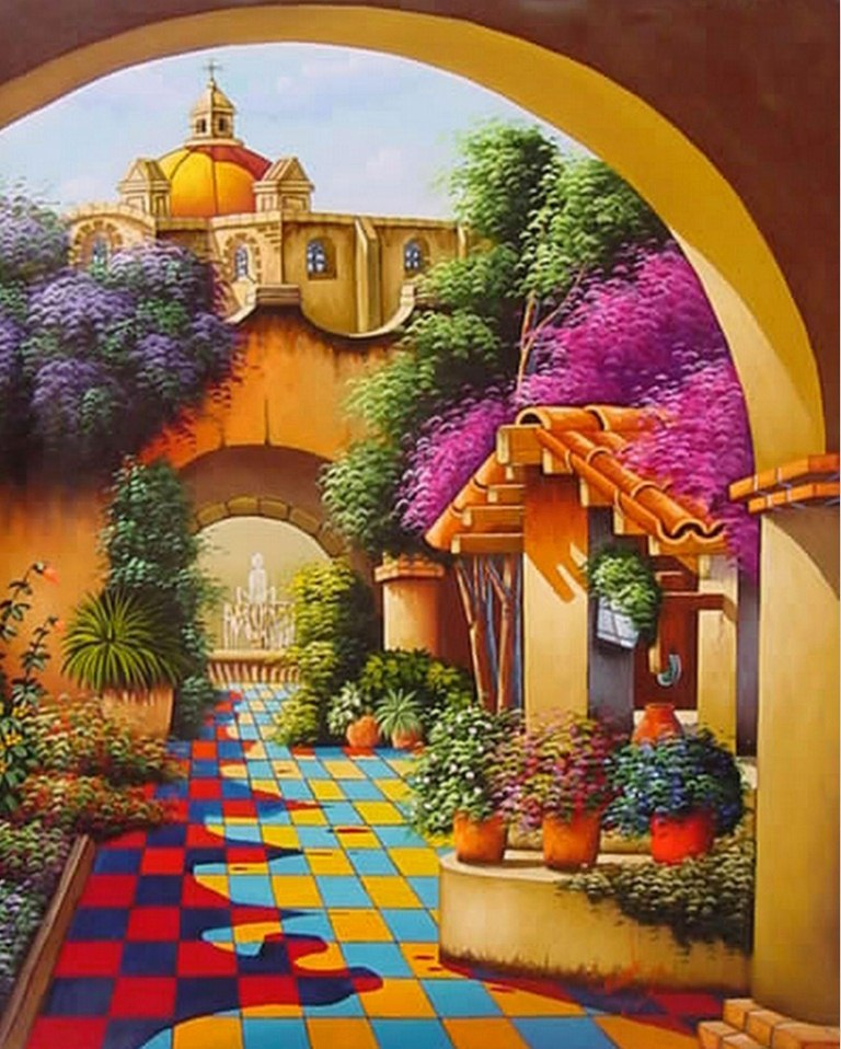Imágenes Arte Pinturas PINTURAS PAISAJES MEXICANOS
