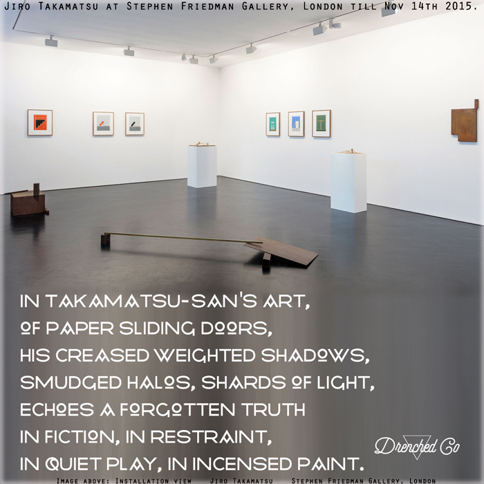 Image of Stephen Friedman Gallery, London with art exhibition review by Drenched Co.