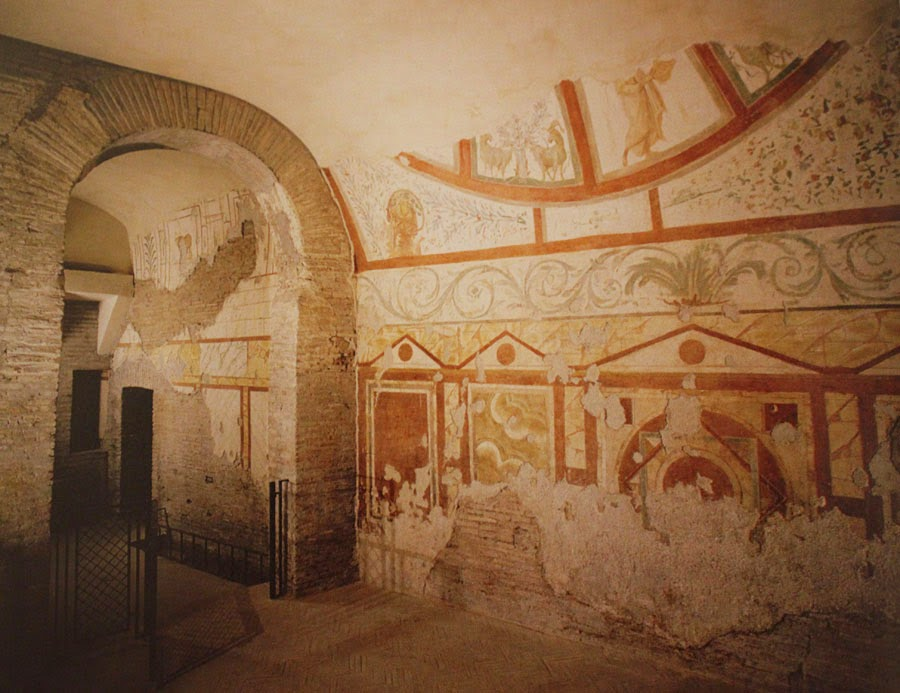 Le case romane del Celio