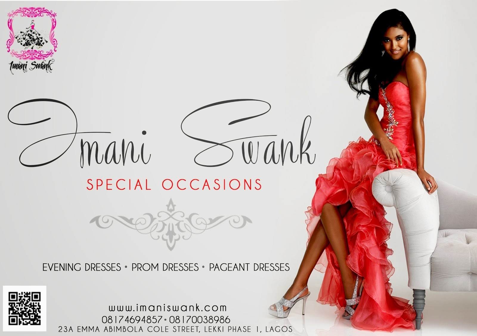 IMANI SWANK EVENINGS AND PROM