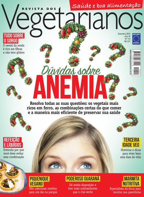 CHEGOU A EDIÇÃO DE SETEMBRO DA REVISTA VEGETARIANOS!