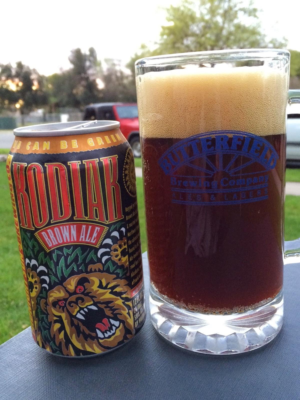 Midnight Sun Kodiak Brown Ale 1