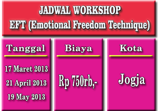 Workshop Hipnoterapi EFT Jogja