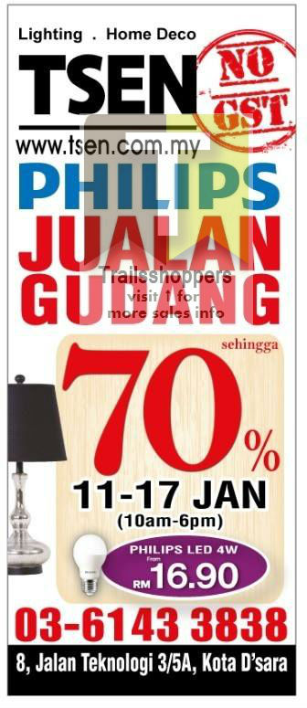 TSen Lighting Warehouse SALE 2016