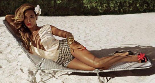 Beyonce on H & M