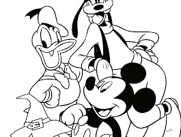 Pluto The Dog Coloring Pages To Print