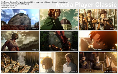 Download Film Shingeki No Kyojin Episode 025 Bahasa Indonesia
