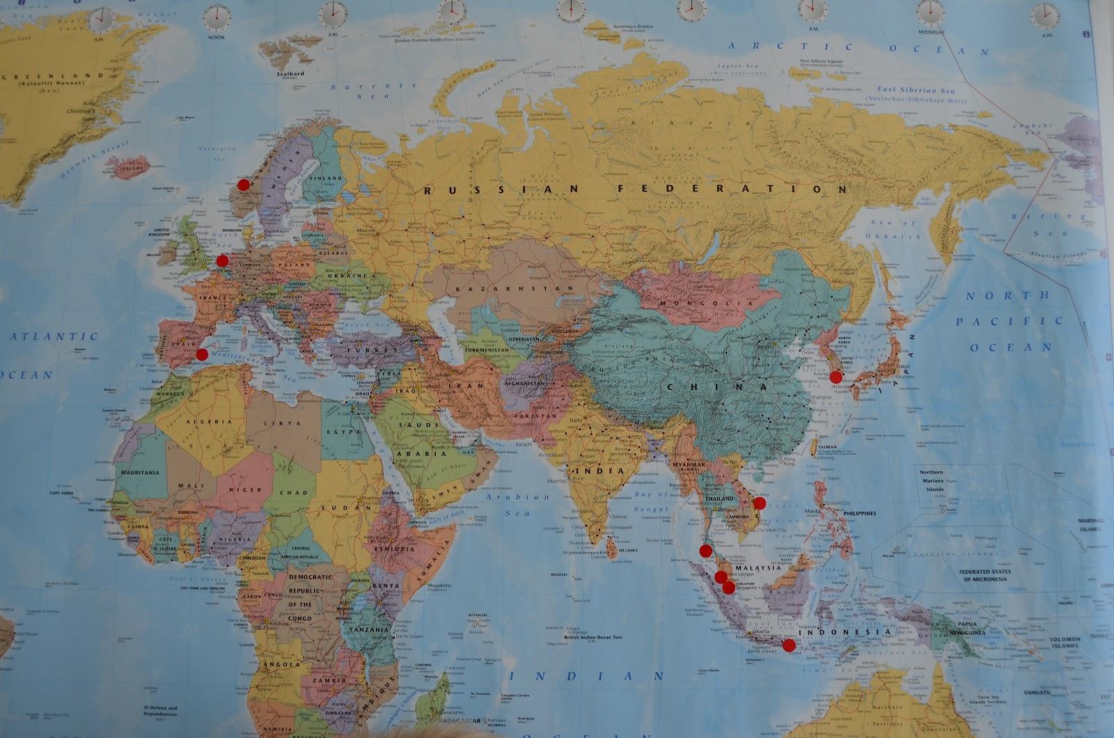 iren u0026 39 s hverdag i asia  verdenskart