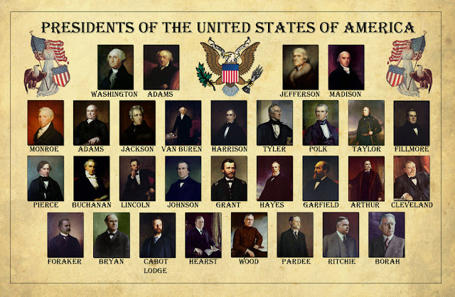 Interesting facts interesting fun facts about presidents for Pictures of all presidents of the united states in order