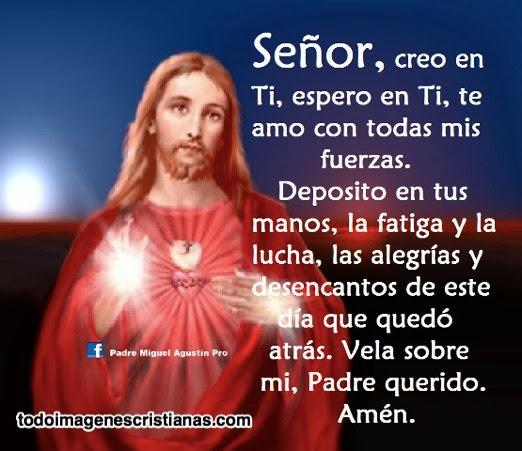 Señor, creo en Ti