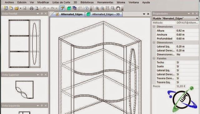 Polyboard programa para dise ar muebles cocina closet for Disenar muebles de cocina online