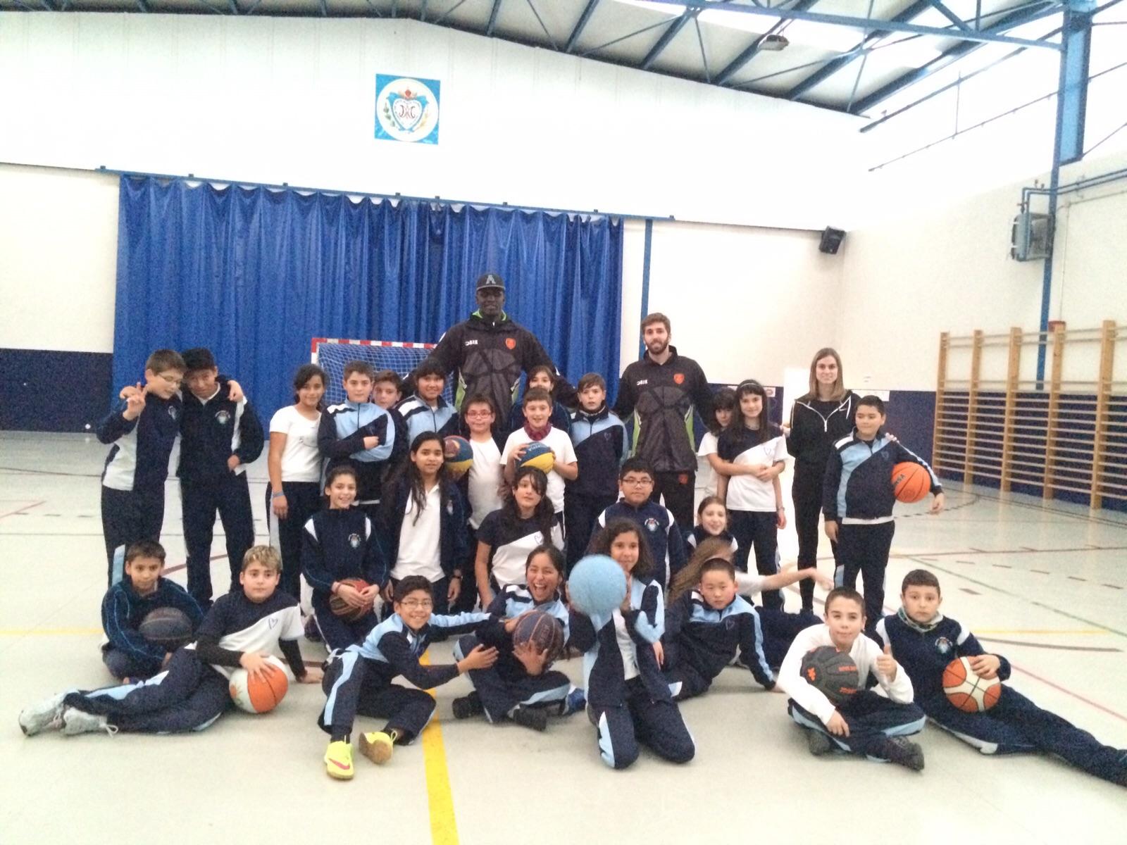 Colegio amor de dios burlada gigantes del basket - Colegio amor de dios oviedo ...