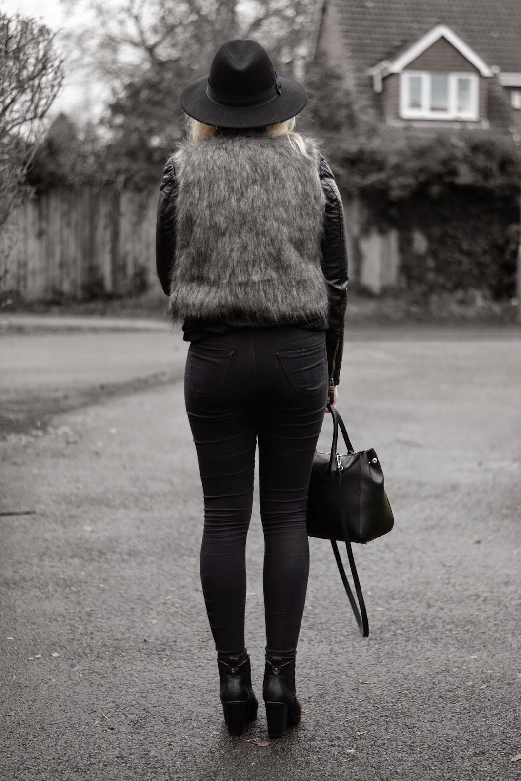 Sammi Jackson - Faux Fur Vest