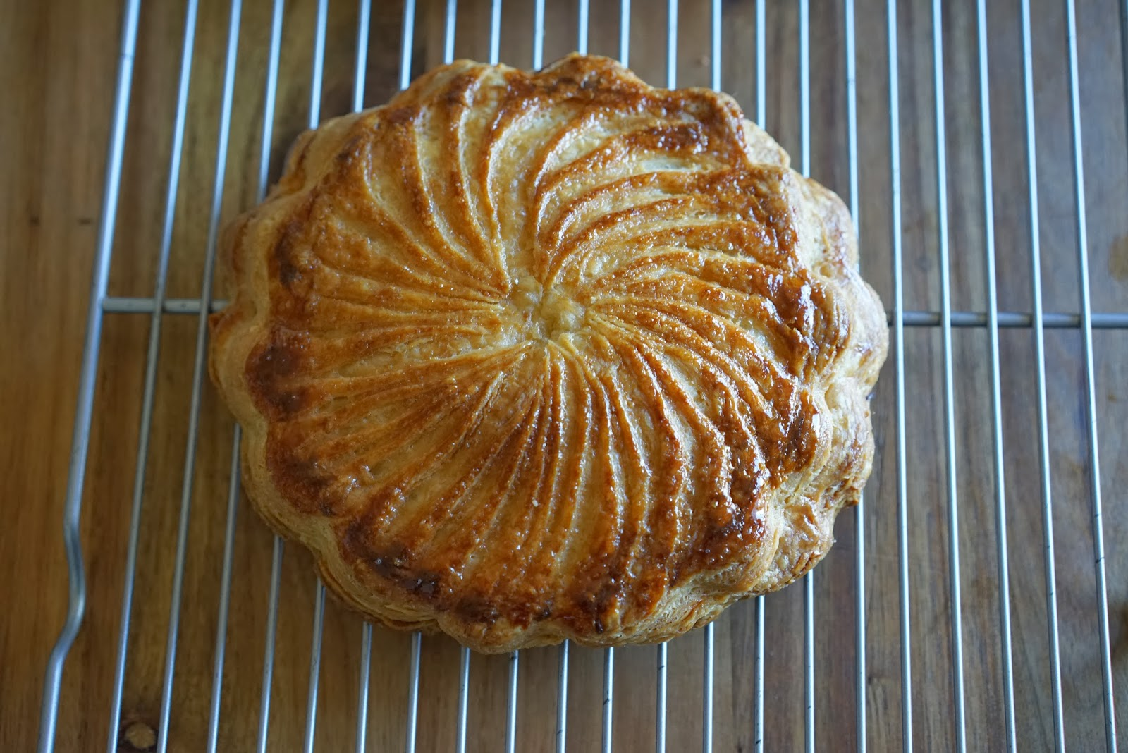 Galette des rois - French Kings Cake - Pithiviers | Chef Rachida