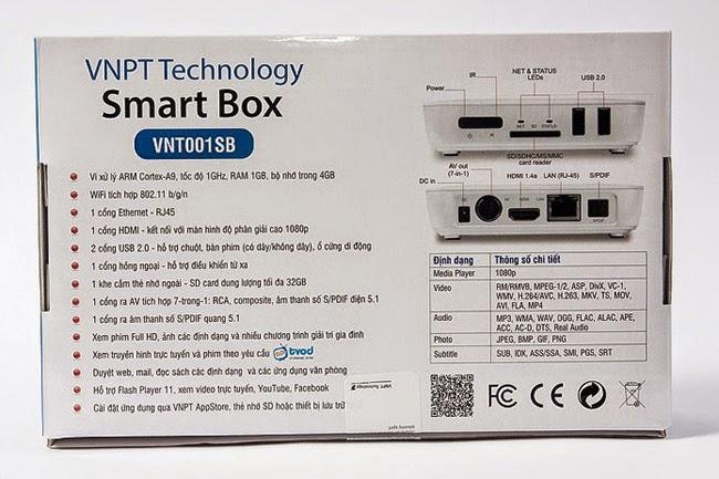 Đầu Thu VNPT Smartbox - Đầu Phát HD chất lượng cực Tốt