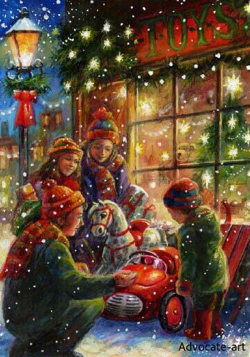 christmas art jim mitchell Photos