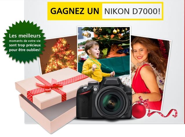 Un NIKON D7000 à gagner