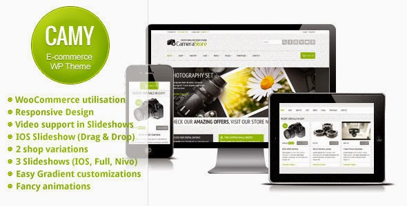 Camy v2.0 - Themeforest Premium Multipurpose Shop