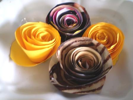 Trees And Dreams Handmade Paper Roses