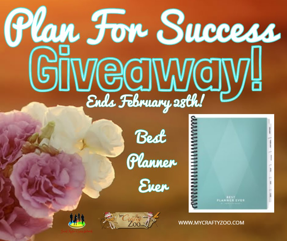 Plan For Success #Giveaway