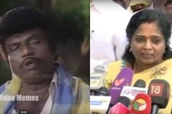 Tamilisai about Sasikala | Video Memes