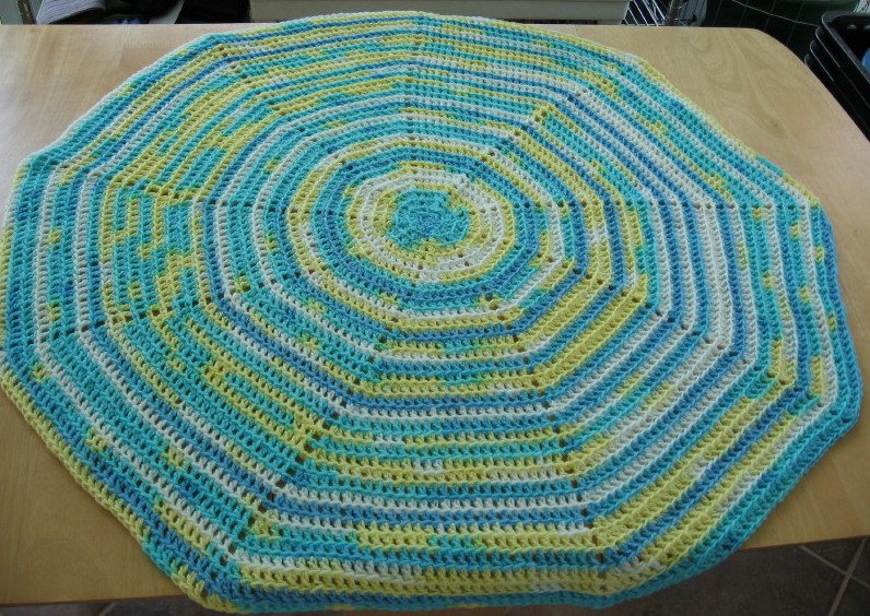 Simple Knits Ridgeline Spiral Blanket To Crochet