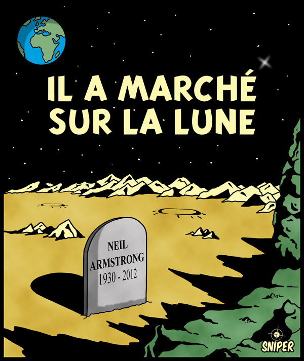 Il a march� sur la LUNE !