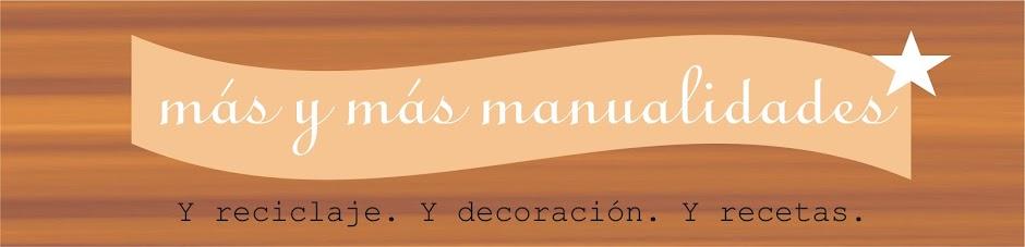 más y más manualidades