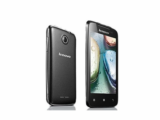 Spesifikasi dan Harga Lenovo A390 OS Android ICS 4.0.4 Dual SIM card