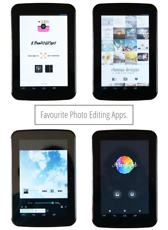 My Favourite Photo Editing Apps.