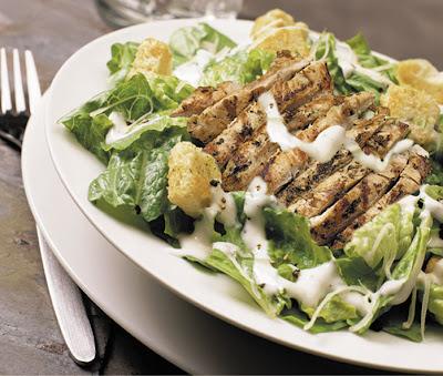 No fuss caesar salad