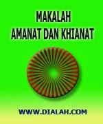 Download Makalah Amanat Dan Khianat