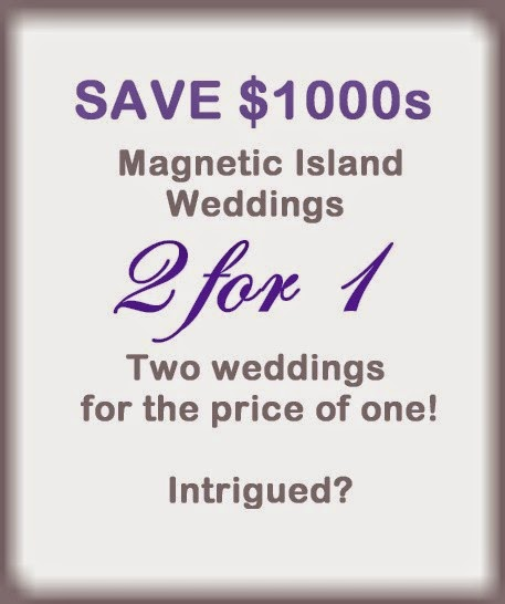 Double Wedding 2 for 1 Magnetic Island Weddings Crusty Herron