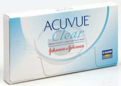 optikku softlens lensa kontak bening bulanan monthly disposable acuvue clear johnson