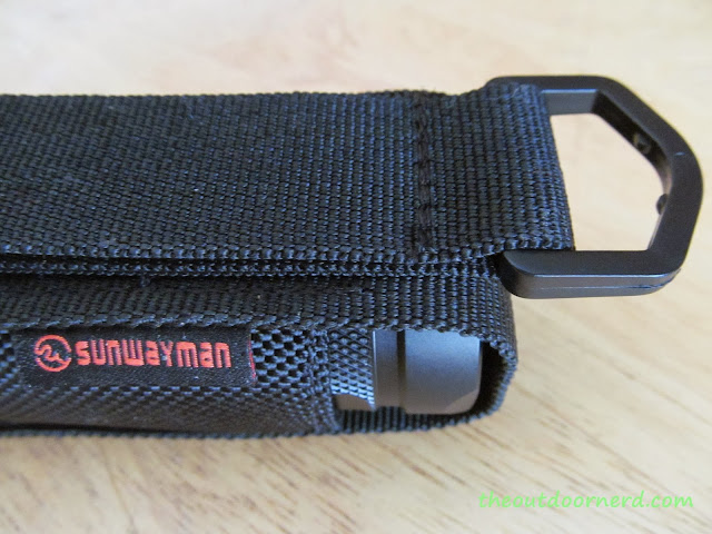 Sunwayman D40A [4xAA Flashlight] - Closeup Of Sheath 3