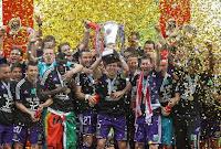 FÚTBOL-Anderlecht logra la liga por segundo año consecutivo