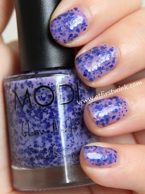 Modi Glam Nails nail polish 78 - Beautiful stranger