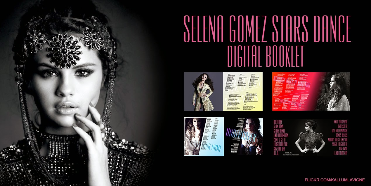 Selena gomez stars dance digital booklet artwork digital booklets selena gomez stars dance digital booklet voltagebd Choice Image