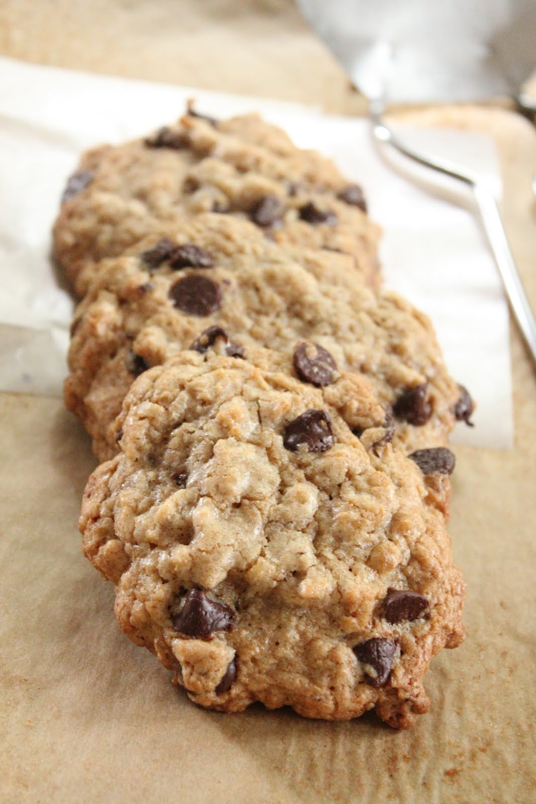 healthier oatmeal and chocolate chip cookies