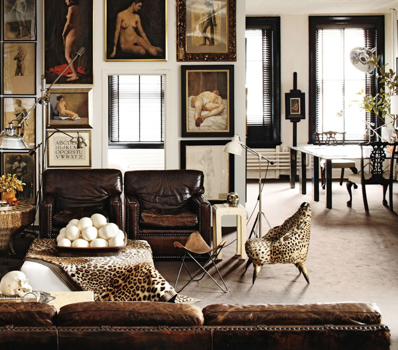 Animal Print Chairs Living Room Roomanimal  Photo Page Hgtv Throughout