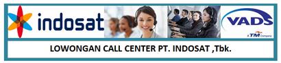 Lowongan Kerja Call Center (CS) Indosat Semarang
