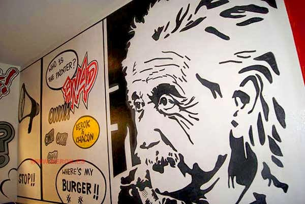 Graffiti Albert Einstein