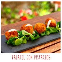 Foto: Falafel con pistachos