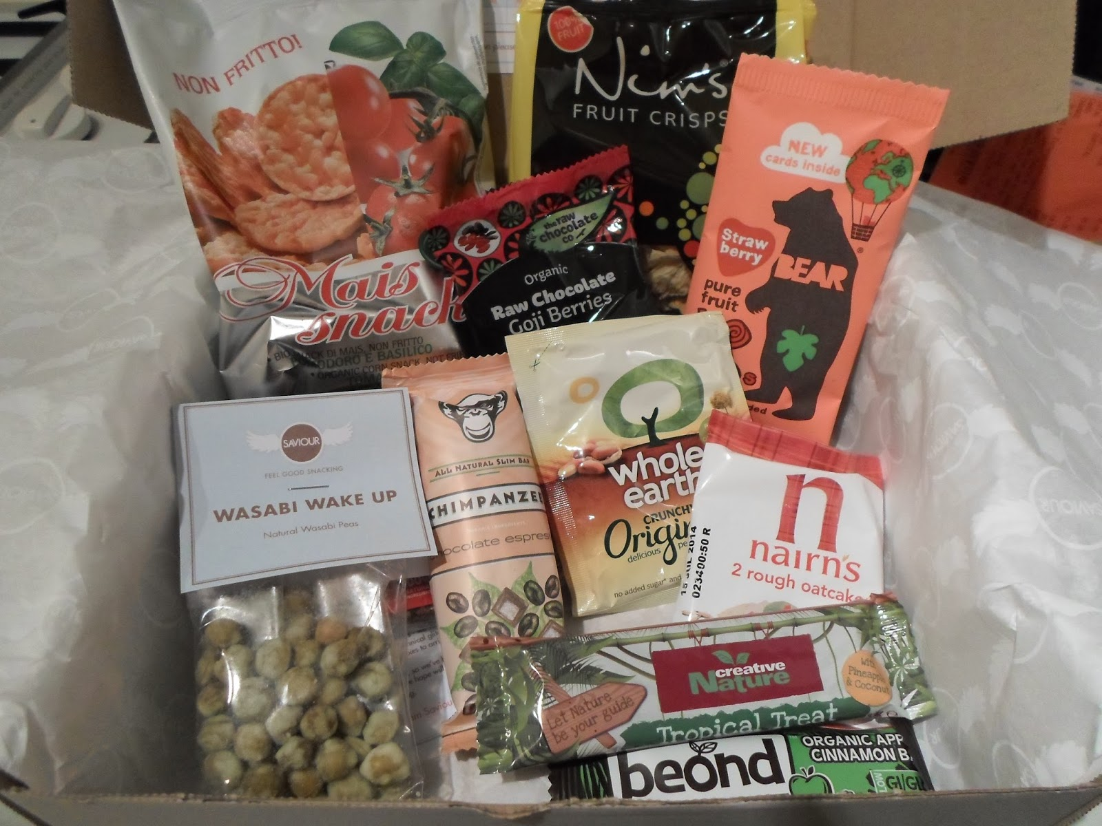 Saviour Snacks Box (Vegan)