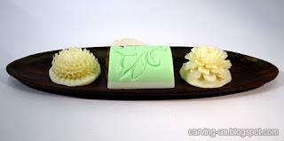 декоративное вырезанное мыло