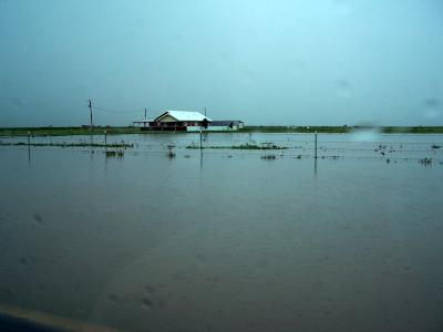 Texas roads flooding