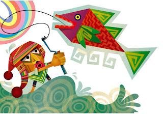 ilustracion de ciudad de enanos