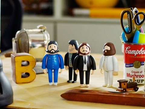 Beatles 3D-Printed Figurines
